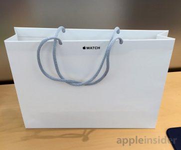 Sacchetti in carta per rispettare l'ambiente - Apple